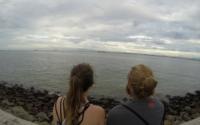 Viewing the ocean from Penang / Georgetown