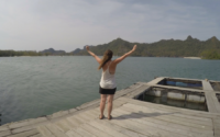 Looking out over the Mangrove in Langkawi Malaysia