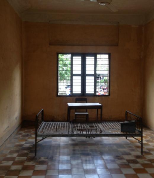 Tuol Sleng Prison in Phnom Penh Cambodia