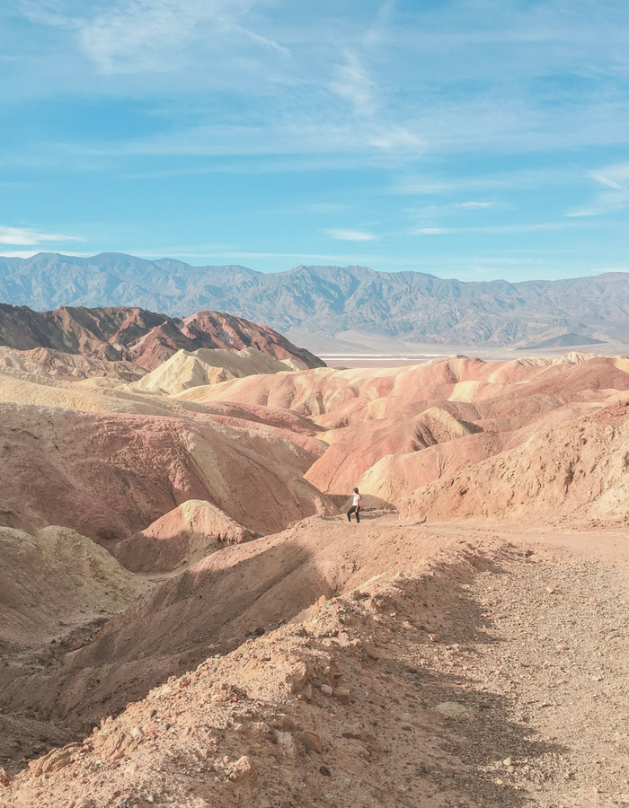 Hiking the Badlands Loop Trail in Death Valley