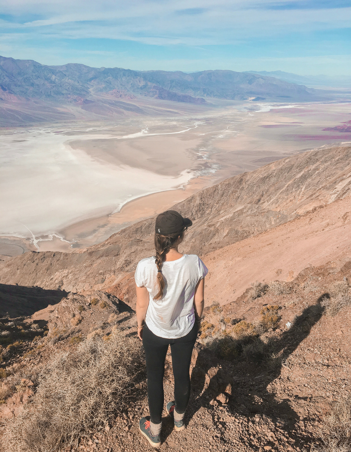 Dantes View overlooking Badwater Basin in Death Valley