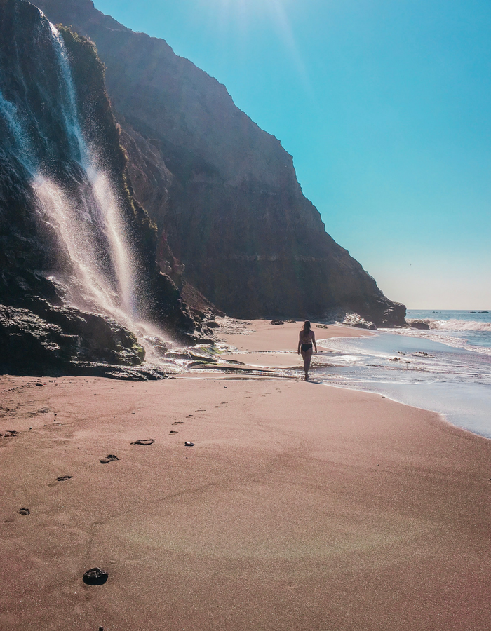 A hike down the beach in Point Reyes National Seashore