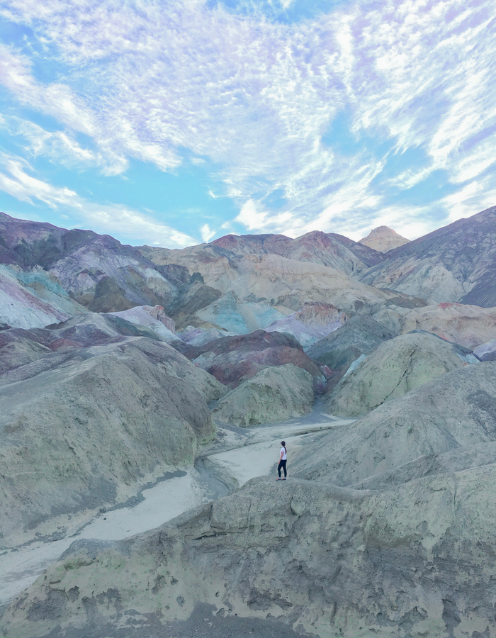 Artists Palette in Death Valley National Park