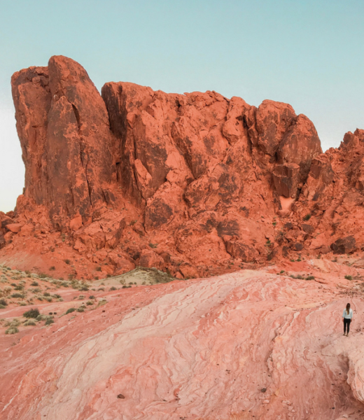 The Fire Wave Trail in Valley of Fire State Park