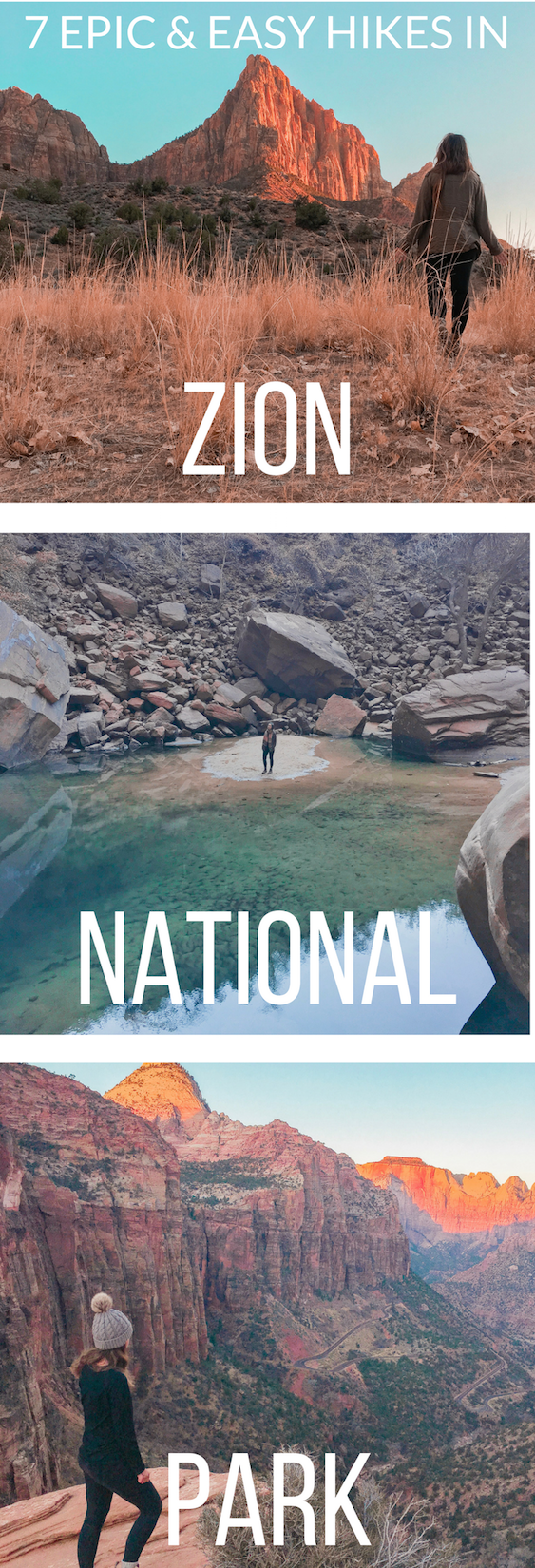 7 Easy Hikes in Zion National Park