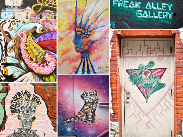 Touring Freak Alley: Boise's Street Art Gallery