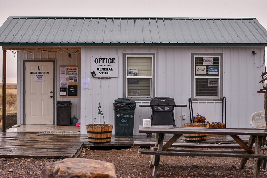 The Alvord Hot Spring Office and General Store