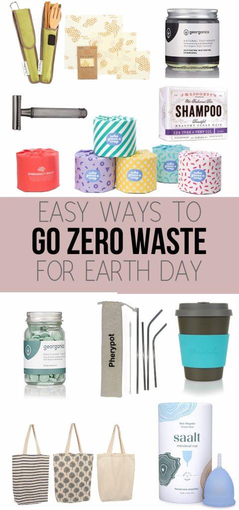 Zero Waste Alternatives for Earth Day